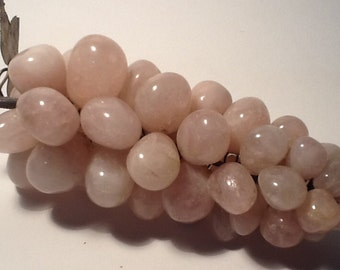 Pink quartz grape