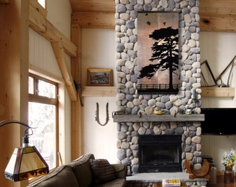 Reclaimed Barn Wood Wall Art — Rustic Painting