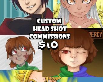 Custom Headshot Commissions~