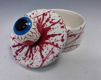 Eyeball jewelry box