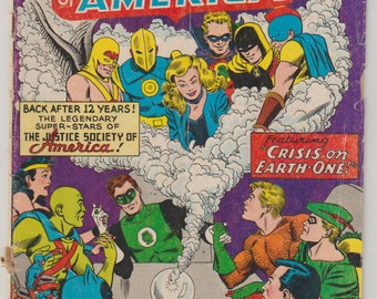 Justice League of America; Vol 1, 21 Silver Age Comic Book. GD (2.0). August 1963.  DC Comics