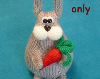 Hare, amigurumi knitting pattern