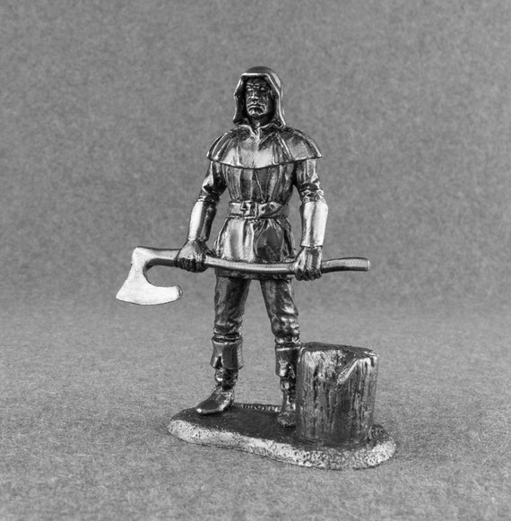Medieval Toy Soldiers 1/32 Scale Executioner Toy Soldiers