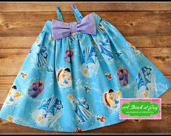 Cinderella, Disney Princess, Hattie Dress, Prince Charming, Fairy God Mother, Boutique Dress, Boutique Clothing