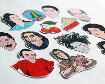 Twin Peaks Stickers / Magnets