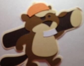 Beaver die cut