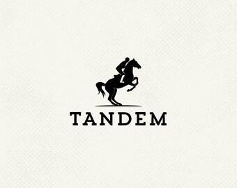 Pre made logo, Horse riding logo, Horse logo, One of a kind logo, Identity design, Professional business branding, Personal logo, Ooak logo