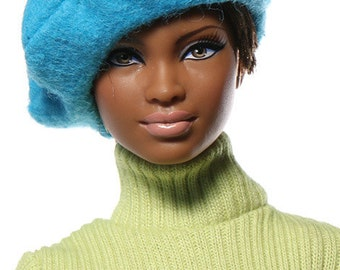 Doll clothes (hat): Simone