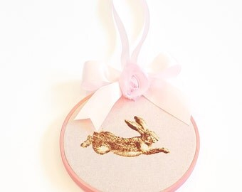 Jumping Bunny Wall Hanging