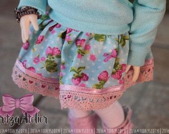 Knee-length Skirt for YoSD 1/6 BJD