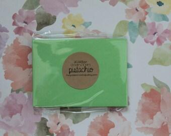 pistachio envelopes - A1/4Bar [10]