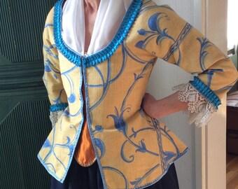 18th Century Caraco/Jacket
