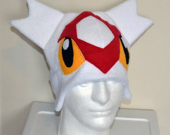 Latias Pokemon Fleece Hat with Earflaps