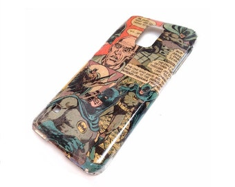 Comic Cell Phone Case iPhone 4S 5 5s 5C 6 6+ 7 Plus SE, Samsung Galaxy S3 S4 S5 S6 S7 Edge and Note - Customized Comic Book Geek Phone Case