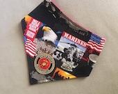 Bandanna Bib - U.S. Marines/Red