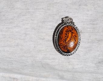 Items Similar To India Script Stone Pendant Fine Jewelry