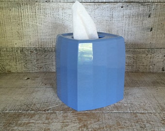 Tissue Box Cover Blue Tissue Box Holder Mid Century Tissue Box Cover Blue  Plastic Tissue Box