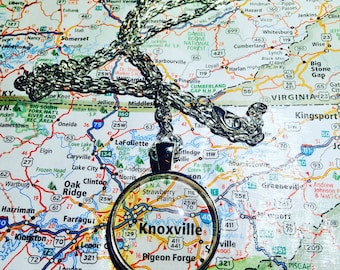 Map necklace, map charm necklace, choose your map, lakes on chains, hometown map charm necklace, map necklace, gifts for mom