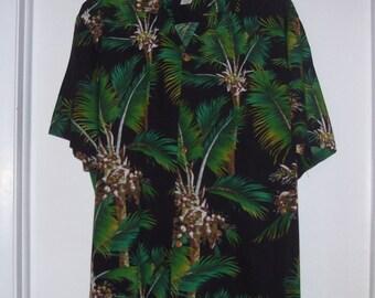 Hawaiian Shirt Vintage  Made in Hawaii  Rayon Men's L