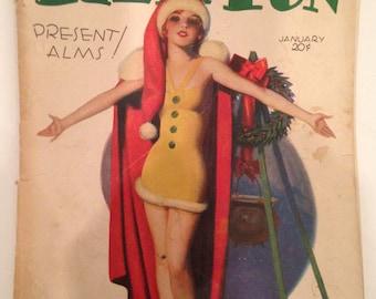 "Vintage Magazine: ""Film Fun"" Jan. 1930"
