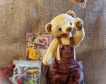 "Cute Old Vintage retro style 9"" Teddy Bear"
