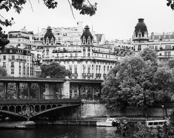 Paris black and white photography, Paris photography, Paris print, Paris architecture, black and white photography, wall art
