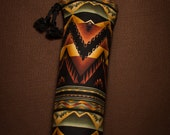 Great North Wilderness Native American Flute Bag, Lined, Extra Thick/Long