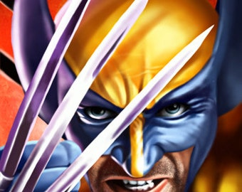Wolverine - Marvel X-Men Canvas Art Print