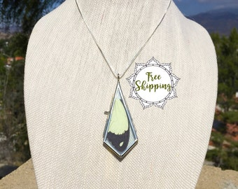 The Flying Handkerchief Butterfly Wing Necklace