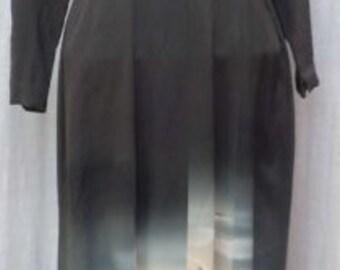 Vintage SILK KIMONO DRESS