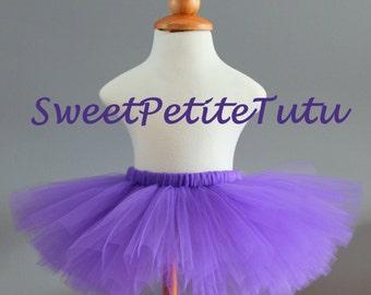 Purple Tutu, Dark Purple Tutu, Preemie, Newborn to 14/16 teen, Baby Tutu, Birthday tutu, newborn tutu, photo prop, preemie, First Birthday