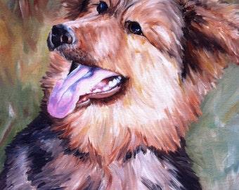 Custom Pet Portrait, Oil Painting