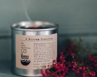 Natural Candle A Burren Susurrus