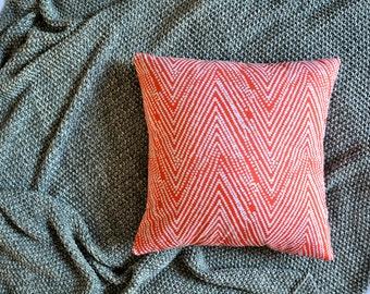 Orange Dots Envelope Cushion Cover