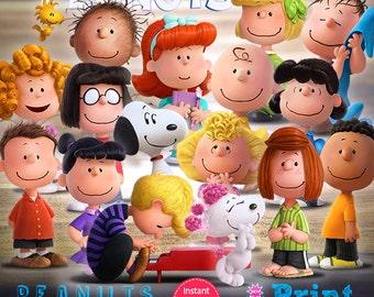 Peanuts digital cliparts for INSTANT DOWNLOAD!