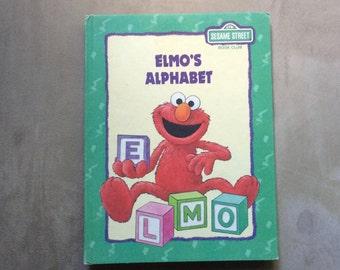 Vintage Sesame Street ELMO'S ALPHABET Book