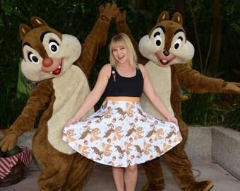 skirt inspired by the cutest little chipmunks around