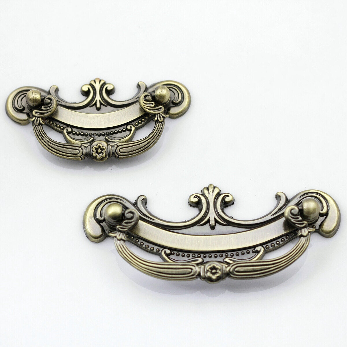 Drop bail pulls dresser pull handles drawer pulls handles knobs cabinet knob pulls kitchen - Drop pulls for cabinets ...