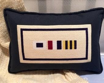 Custom Nautical Flag Needlepoint Canvas