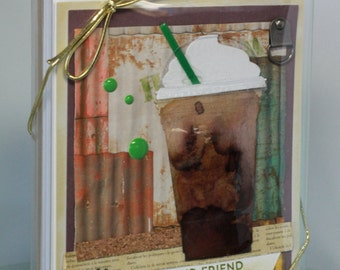 Handmade Coffee Cards