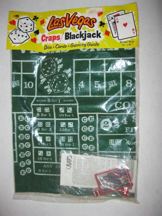 Vintage poker blackjack game cards poker set complete nos for 12 seater poker table