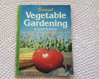 Sunset Vegetable Gardening How To Paperback Book