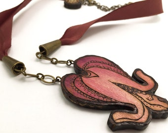 Bleeding Heart Necklace - Handmade & Eco friendly