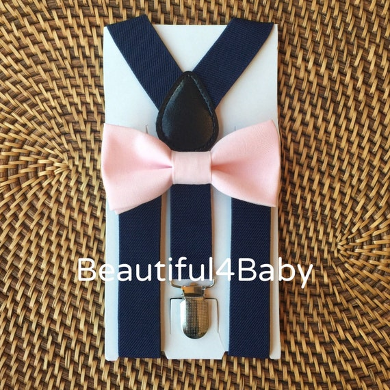 Blush Baby Bow Tie Pink Baby Bow Tie Toddler Bow Tie Blush