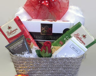 Valentine Pamper Basket
