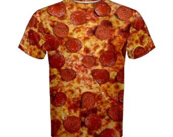 Men's Pepperoni Pizza Shirt