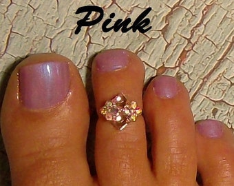 Extra Spinkles, Please! Toe Ring