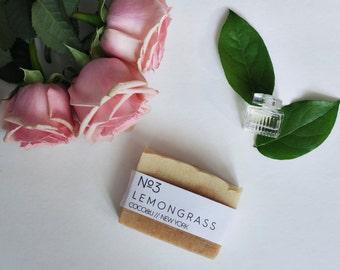 Lemongrass Soap // Cold Process // Vegan