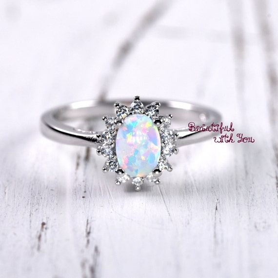 unique engagement ring womens promise rings white lab. Black Bedroom Furniture Sets. Home Design Ideas