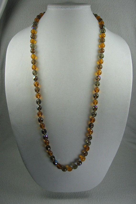 Joan rivers crystal necklace by vintagesparkleybits on etsy for Joan rivers jewelry necklaces